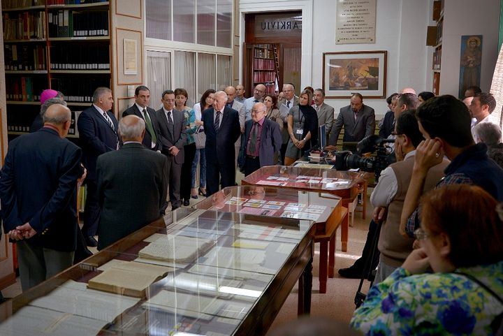 25th anniversary exhibition inauguration of the National Archives Gozo