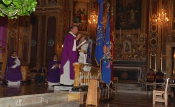 Bishop Grech concelebrates special Mass as part of Pastoral Visit to Xaghra