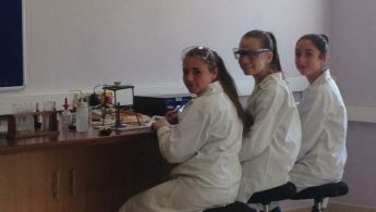 Bishop's Conservatory Secondary School students at Malta Junior Science Olympiad