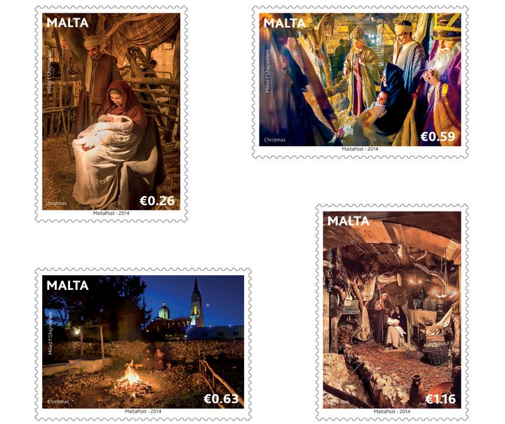 Live crib in Gozo - Bethlehem f'Ghajnsielem features on new Christmas stamps