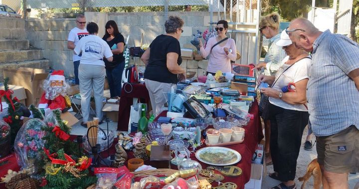 Charity Fair in Victoria for the Friends of the Sick & Elderly Gozo
