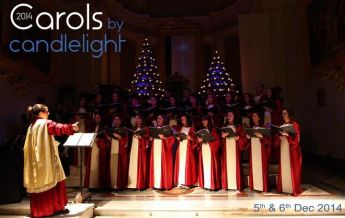 Schola Cantorum Jubilate in Carols by Candlelight at St. Augustine's Church