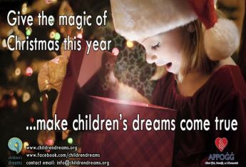 Children's Dreams: Help give the magic of Christmas this year