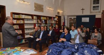 EDIC presentation of EU publications to Gozo Local Council representatives