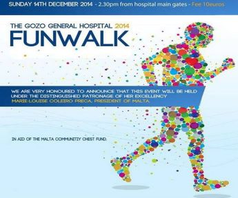Gozo General Hospital Fun Walk in Aid of the Malta Community Chest Fund