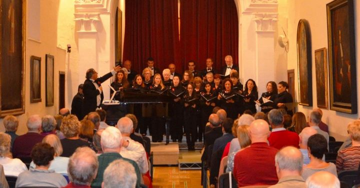 Gaulitanus Choir & friends perform concert of 'World War I in Music ( … and Words)'