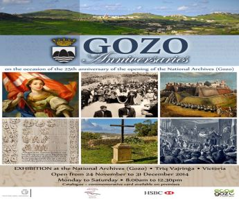 25th anniversary of the opening of the National Archives Gozo