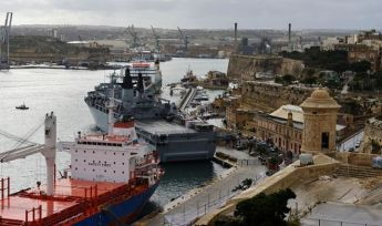 Royal Navy Flagship HMS Bulwark arrives Sunday for a return visit to Malta