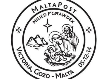 Special Hand Postmark – Milied f' Ghawdex: For the start of Gozo Christmas events