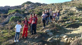 The lush countryside around Qala enjoyed on the Gozo-Rocks hike