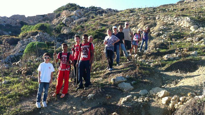 Gozo-Rocks hike this coming Sunday around Xlendi, Sannat and Munxar