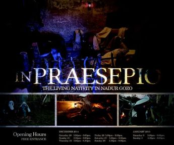 'In Praesepio' The Living Nativity in Nadur; Sacred Art exhibition & public talk