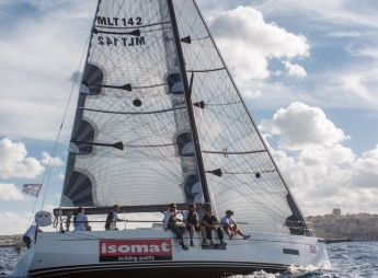 Isomat Unica wins BOV Gozo Weekend Regatta, record entry of 22 boats