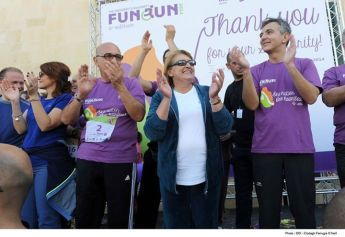 Over 16,000 people take part in President's Fun Run - A record number