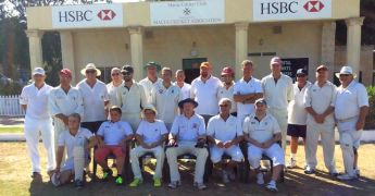 A reminder of a cricket game played in August between Marsa & R.M.G. CC.