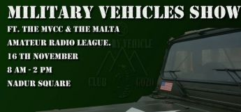 Military Vehicles Show next Sunday morning in Nadur Square