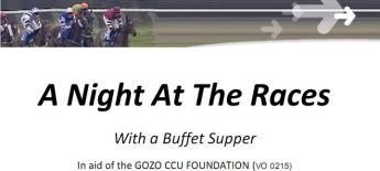 A Night At The Races with buffet supper in aid of the Gozo CCU Foundation