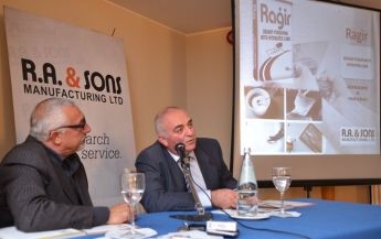 Gozitan company R.A. & Sons launches new range of construction products