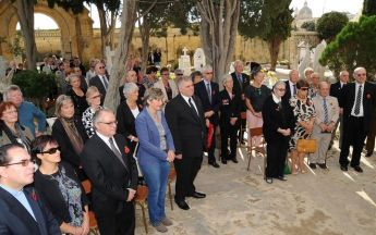 Remembrance Day Commemoration ceremony held in Gozo