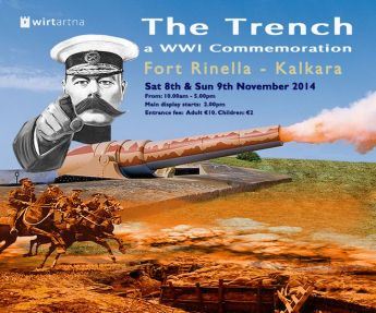 'The Trench' commemoration events for 100th anniversary of WW1