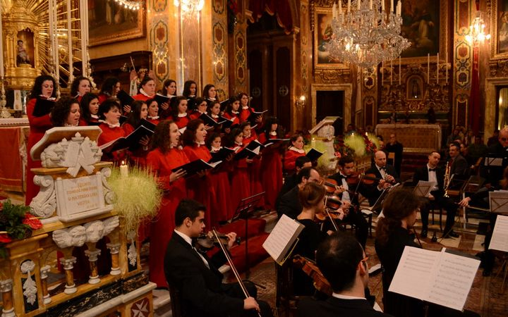 'Puer Natus Est' – Christmas Concert 2014 organised by the Xaghra Local Council