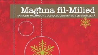 Maghna fil-Milied: Special Christmas cards crafted by persons with disabilities