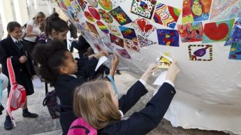Artwork by 12,000 primary schoolchildren in Gozo & Malta on display fo Ziguzajg