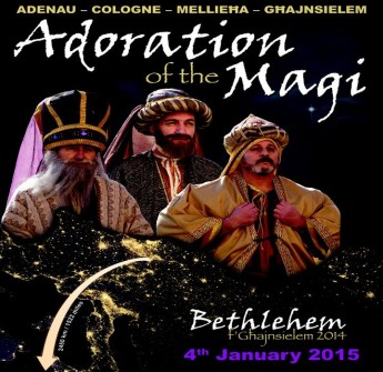 The Three Magi arrive in Bethlehem f'Ghajnsielem next Sunday