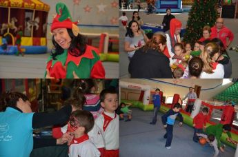 Christmas fun park & entertainment in Gozo especially for children