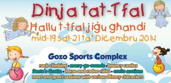 3 days of Christmas fun & entertainment in Gozo especially for children