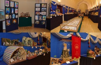 Exhibition of cribs and Christmas cards at the Ministry for Gozo