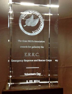ERRC presented with the Gozo NGOs Association Award for Gallantry