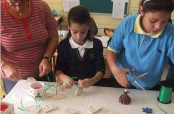 Gozo takes part in a European Christmas Tree Decorations Exchange