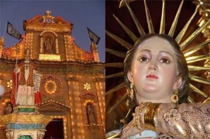 Victoria and Qala celebrate the Feast of the Immaculate Conception