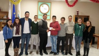 Gozo University Group members give a helping hand at the Arka Foundation