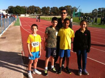 Gozo Greyhound team members participate in MAAA cross country race