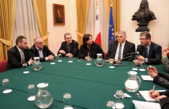 Gozo Regional Committee meet with Minister Anton Refalo & Minister Helen Dalli