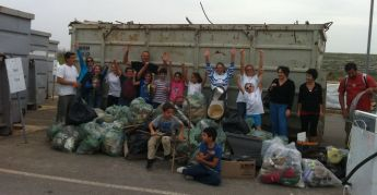 Gozo clean-up collects 63 bags of rubbish plus other items in 1.6Km walk for EWWR