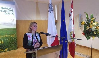 Justyne Caruana launches the National Policy on the Rights of Persons with Disability