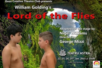 Gozo Creative Theatre Club presents The Lord of the Flies at the Astra Theatre