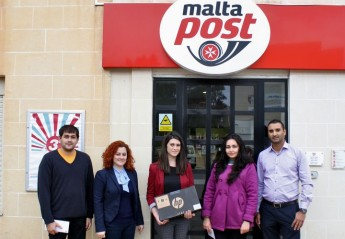 MaltaPost announces winners University Freshers' Week Competition