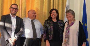 Dr Maria Mercedes Rossi & Gozo NGOs Association visit Minister Helena Dalli