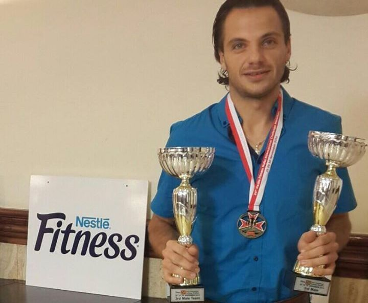 Gozo's Stefan Azzopardi placed 3rd in Nestle Malta International Challenge Marathon