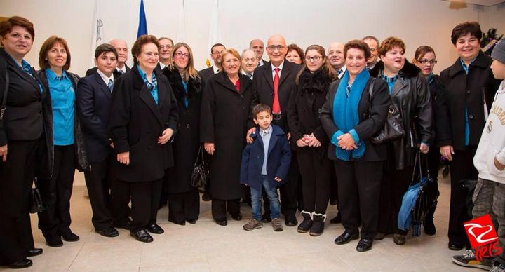 €741 raised for Istrina during a Christmas Concert by Chorus Urbanus