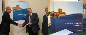 Xlendi and its Ancient Shipwrecks: Book by Prof. John Woods launched in Gozo