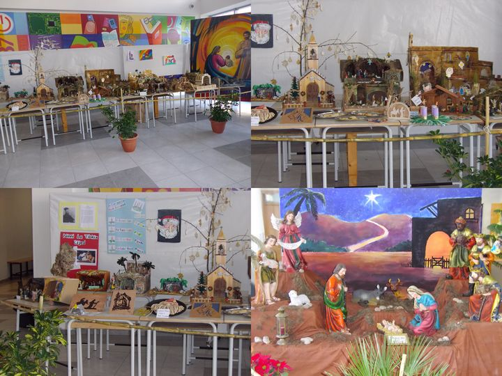 Gozo College Boy's Secondary School Christmas exhibition