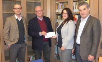 Alfred Mizzi Foundation Bursary presented for M.A. in Mediterranean Studies