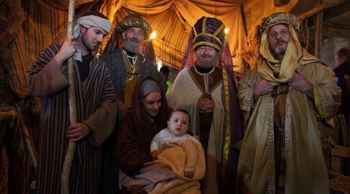 Adoration of the Magi to close Bethlehem f'Ghajnsielem Nativity Village