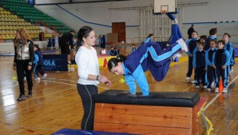 Sports equipment for Gozo College students funded through EcoGozo