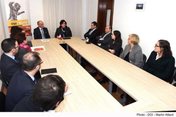 MEUSAC launches the European Year for Development 2015 in Malta